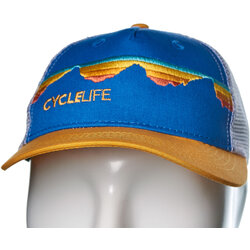 Cycle Life Teton Sunset Trucker Cap