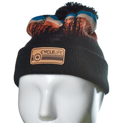 Cycle Life Lodgepole Beanie Black