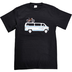 Cycle Life Retro Van T shirt