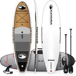 Kahuna Paddleboards Warrior Braddah Bamboo