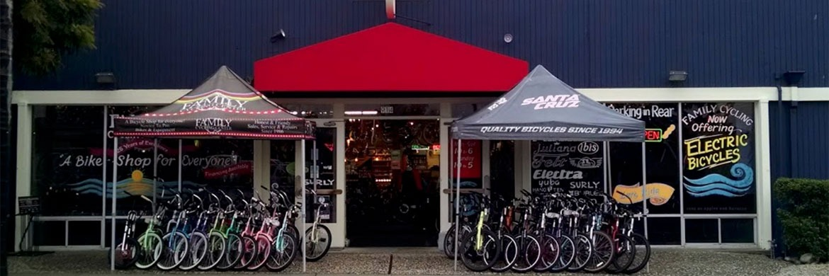 Family Cycling Center Storefront