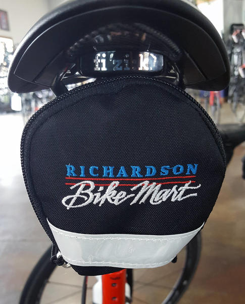 Richardson Bike Mart Logo Seat Cargo Wedge Bag