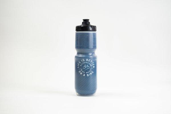 Richardson Bike Mart RBM Life is Better Insulated Water Bottle