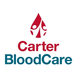 carter blood care link and logo
