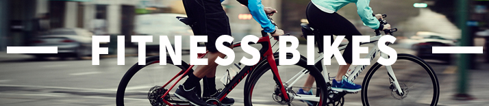 Fitness and hybrid Bikes