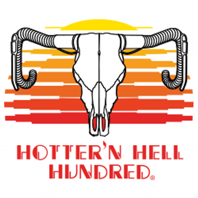 Hotter N Hell Hundred link and logo