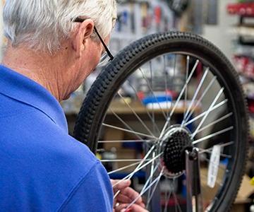 Bike Repair at Richardson Bike Mart