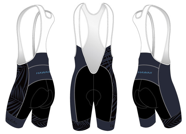 Bike Works Dark Palm Cycling Bib Short