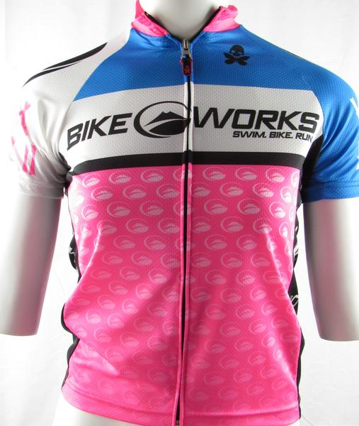 Bike Works Retro Womens Jersey