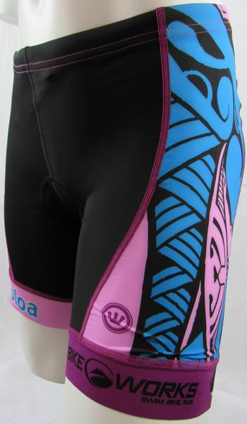 Bike Works Kamakani Womens Tri Short