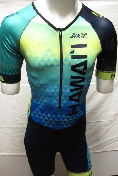 Bike Works Honu Tri Suit Short Sleeve Mens