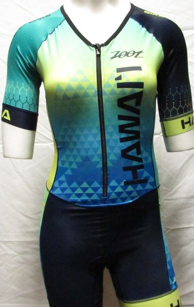 Bike Works Honu Tri Suit Short Sleeve Womens