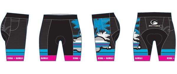 Bike Works Womens Cloud Tri Shorts by Veloha