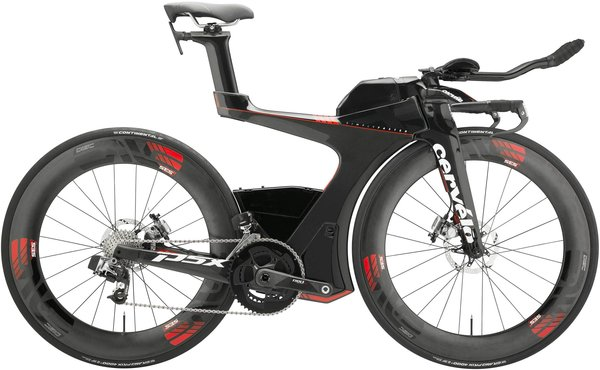 Cervelo P5X with Sram Wireless Etap and Enve Wheels! Size Small