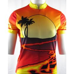 Bike Works Lava Flow / Sunset Womens Jersey