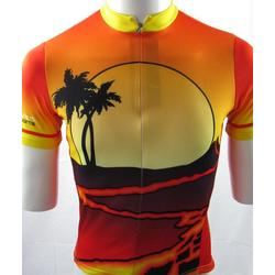 Bike Works Lava FLow / Sunset Mens Jersey