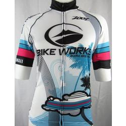 Bike Works Women White Cloud Jersey