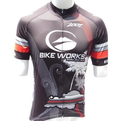 Bike Works Mens Black Cloud Jersey