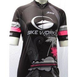 Bike Works Women Black Cloud Jersey