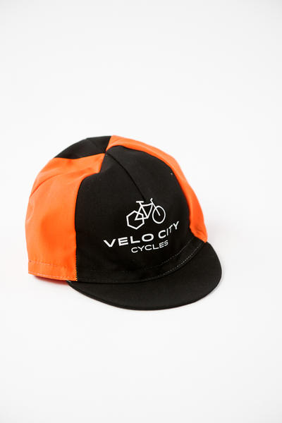 Velo City Poly/Cotton Cycling Cap