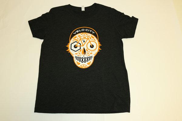 Velo City Youth Velo City Skull Tee Shirt