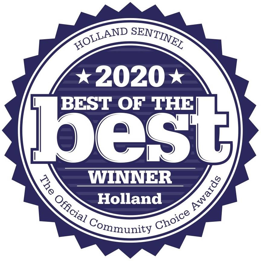 2020 Best of The Best Holland logo - link to Meet Our Staff page