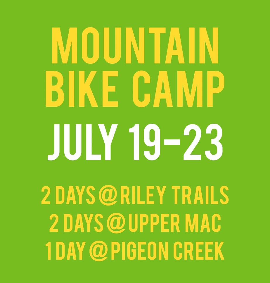 July 19-23 | Mountain Bike Camp