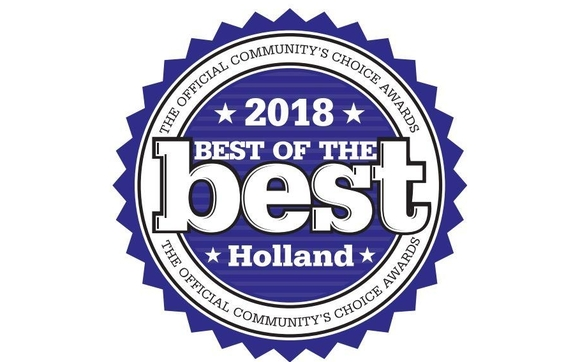 2018 Best Of The Best Holland logo - link to Meet Our Staff page