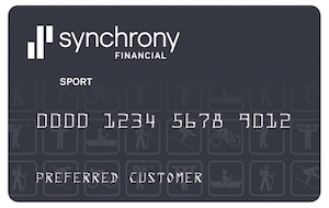 Graphic of Synchrony credit card