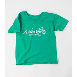 Velo City Life By Cycle Kids T Shirt