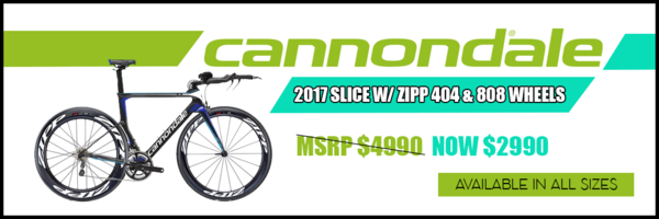 Cannondale Cannondale Slice with ZIPP 404 & 808