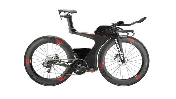 Cervelo P5X WITH HED WHEELS