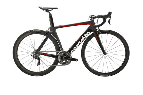 Cervelo S5 Dura Ace 9100 Color: Black/Red