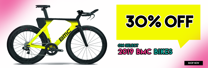 30% off select 2019 BMC bikes