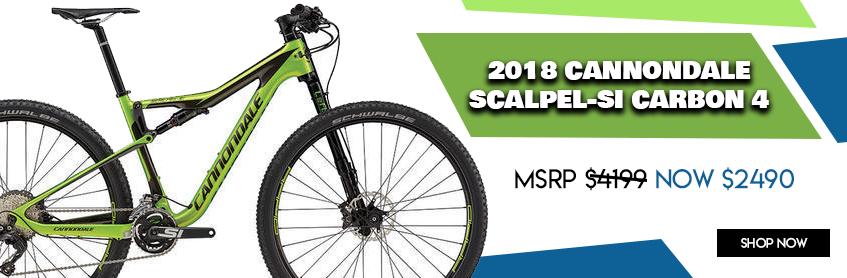 Cannondale Scalpel-Si Carbon 4 - 2018 Closeout