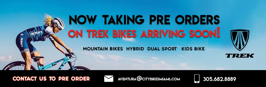 Now taking preorders on Trek bikes arriving soon