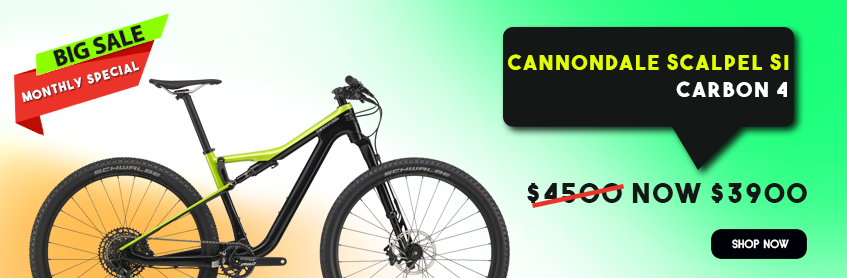 Cannondale Scalpel SI Carbon 4 on sale, $3900