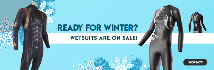 Ready for Winter? Wetsuits on sale