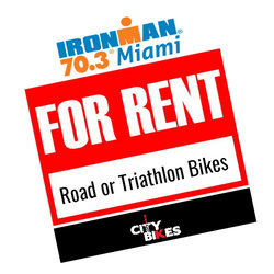 City Bikes IRONMAN 70.3 MIAMI BIKE RENTAL