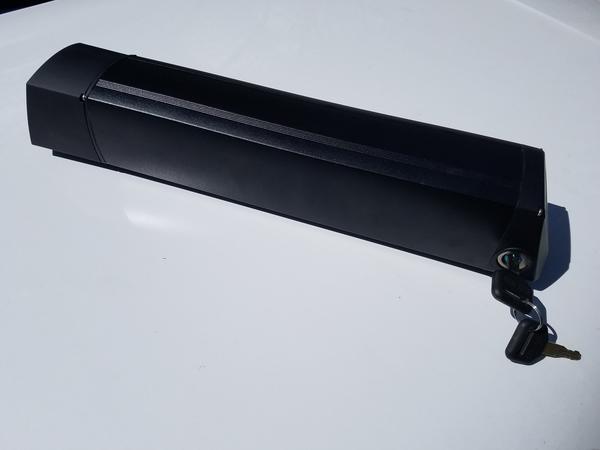 Charlotte Cycles 36V 12.8Ah Lightweight Downtube Mounted Battery (460 watt-hours)