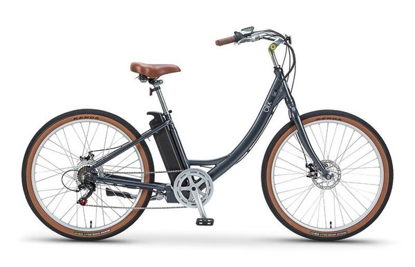 Blix Electric Bikes Sol Electric Cruiser Bike Color: Charcoal