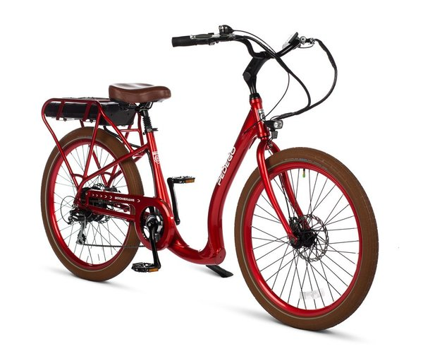 Pedego Boomerang Plus Color: Red