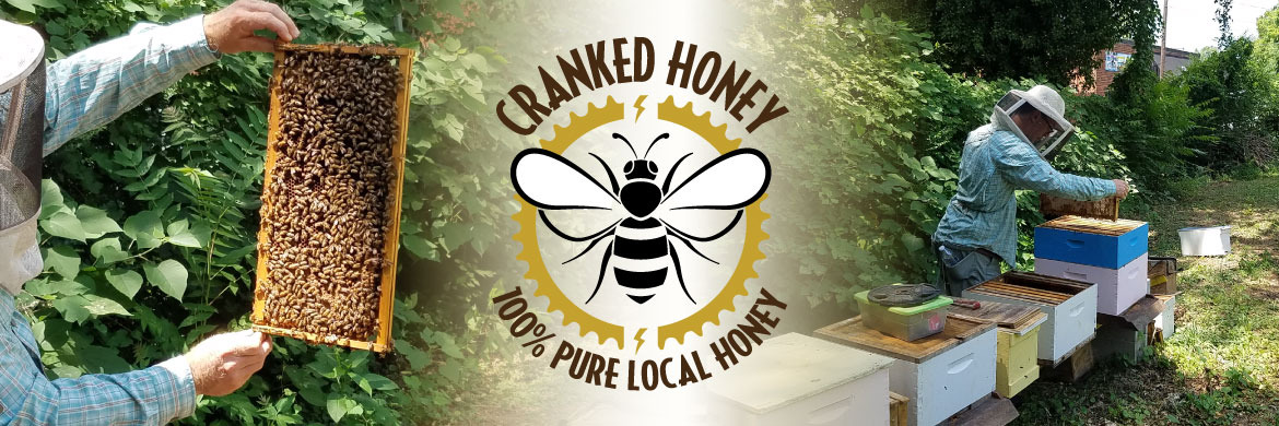 Cranked Honey. 100% Pure Local Honey