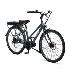 "Pedego 28"" City Commuter MID DRIVE Step Thru Anvil Blue"