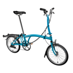 Brompton Folding Bike M6RA/LB/LB/SADW/REV