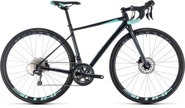 Cube Axial Race Disc Women's Tiagra Road Bike Iridium/Mint