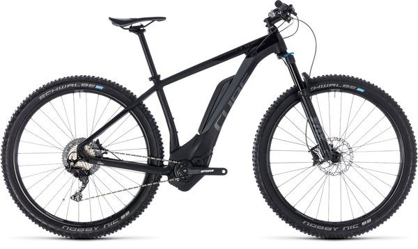 Cube Reaction Hybrid EXC 500 29 Electric HT MTB Black