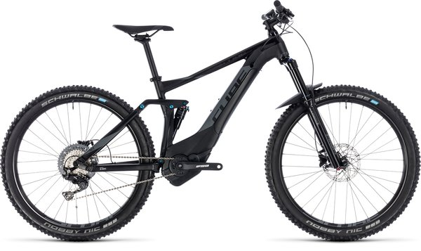 Cube Stereo Hybrid 140 Pro 500 27.5 Electric Full Suspension MTB Black