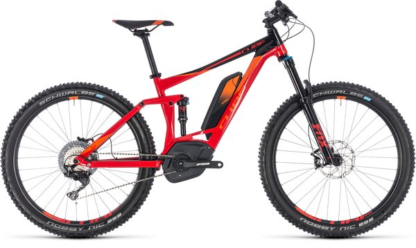 Cube Stereo Hybrid 140 Race 500 27.5 Electric Full Suspension MTB 22""
