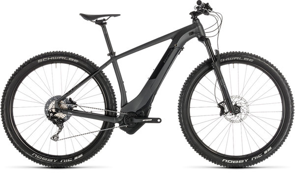"Cube Reaction Hybrid SL 500 29 w Bosch KIOX Electric HT MTB 19"" Iridium/Black"
